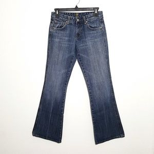 7 For All Mankind | A pocket bootcut jeans sz 27